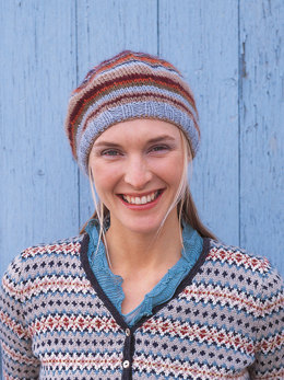 Button Beret in Rowan Kid Classic