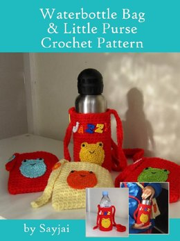 Water Bottle Bag & Little Purse Crochet Pattern
