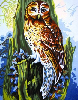 Collection D'Art Owl Tapestry Kit - 30 x 22 cm