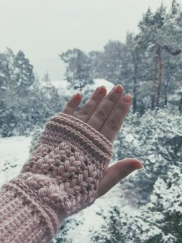 Thread With Love Fingerless Mitts