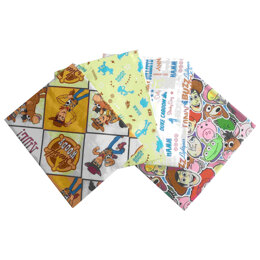 Visage Textiles Woody Fat Quarter Bundle - Multi