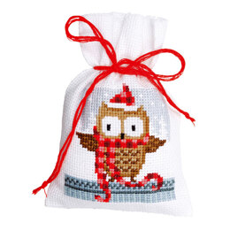 Vervaco Christmas Buddies - Pack of 3 Cross Stitch Kit