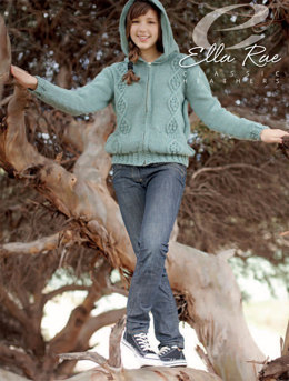 Roxy Cardigan in Ella Rae Classic Heathers - E18-04 - Downloadable PDF