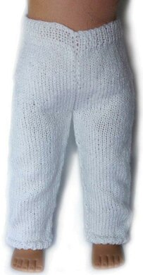 Leggings For 18 Inch Dolls Knitting Pattern By Doll Tag