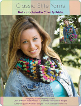 Nat Cowl in Classic Elite Yarns Color by Kristin - Downloadable PDF