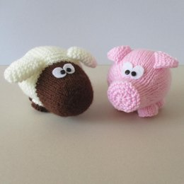 Snuffles Sheep and Truffles Pig