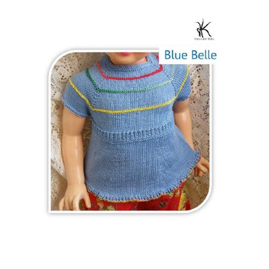 Blue belle (child's top)