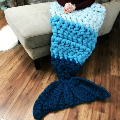 Extreme Bulky Ombre Mermaid