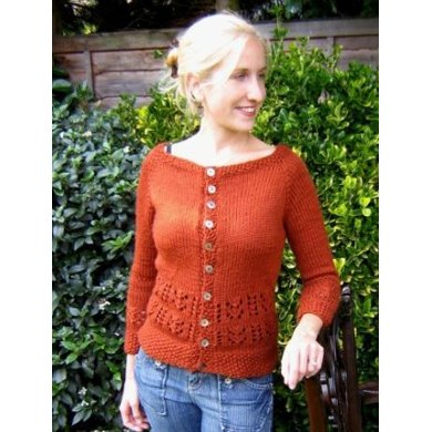 Chunky Fudge Lace Cardigan