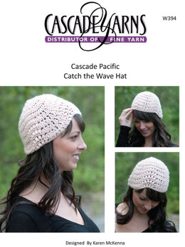 Catch the Wave Hat Cascade Pacific - W394