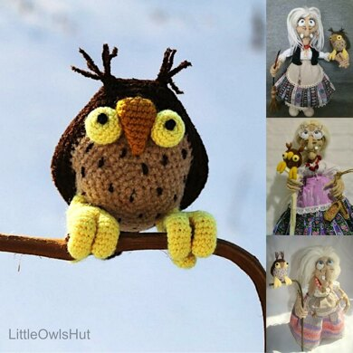 083 Owl for Charming Witch