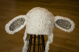 Lamb / Puppy Dog Hat Quick and Easy