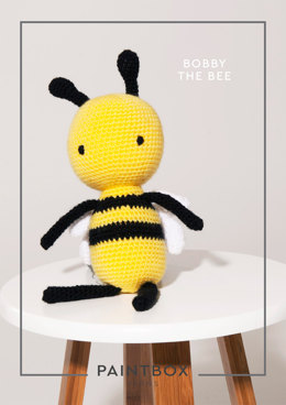 Bobby the Bee in Paintbox Yarns Simply DK - DK-CRO-TOY-001 - Downloadable PDF