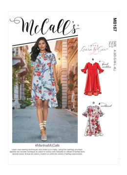 McCall's MartinaMcCalls - Misses' Dresses M8167 - Sewing Pattern