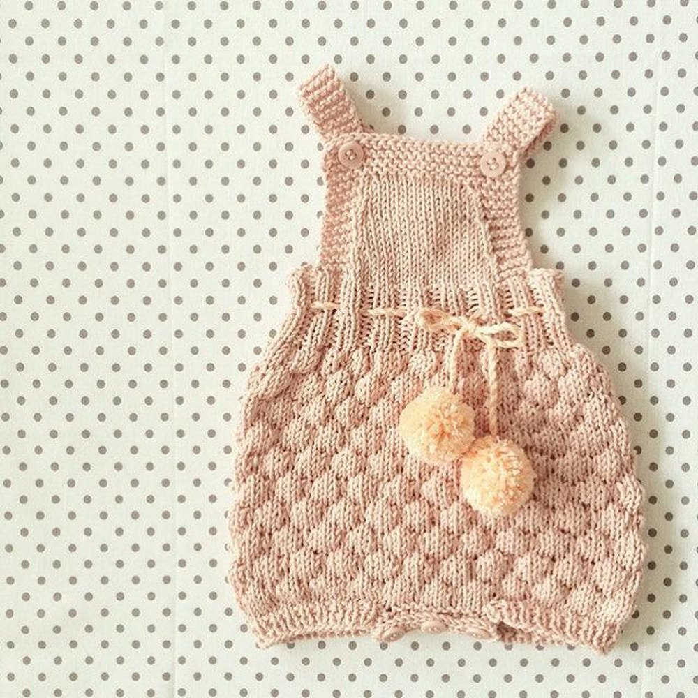 9631238df The Sailor Romper Suit Knitting pattern by Sofie Bovbjerg   Knitting ...