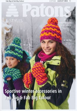 Patons Fab Big Winter Accessories Book- 3854
