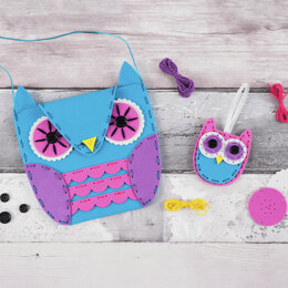 Trimits My First Sewing Kit: Owl Handbag & Charm
