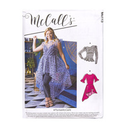 McCall's Misses' Tops M8113 - Sewing Pattern