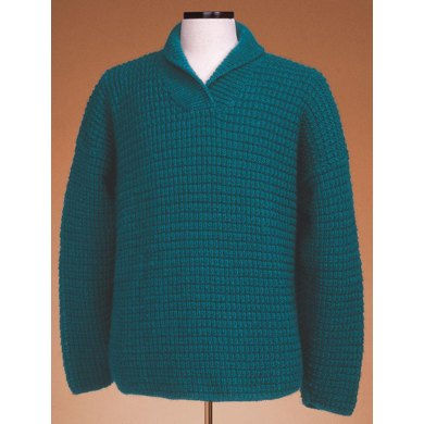 Shawl Collar Pullover #120