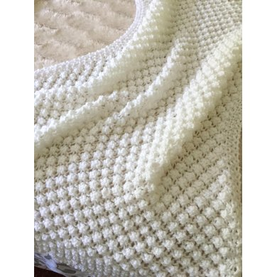 Easy Bobble Baby Blanket Knitting Pattern By Daisy Gray Knits