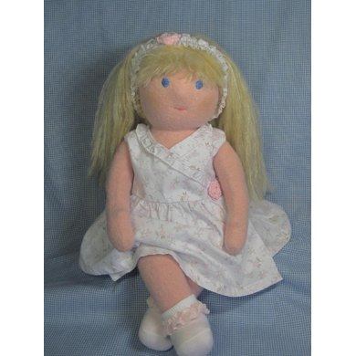 Waldorf Style Felted Doll
