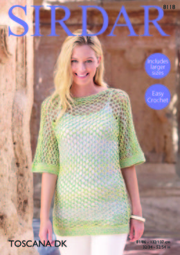 Top in Sirdar Toscana DK - 8118 - Downloadable PDF