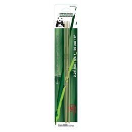 Panda 20cm Bamboo Double Point Needles