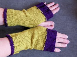 Lightweight Fingerless Gloves