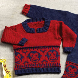 More Fun Pullover in Valley Yarns Superwash - 1121 - Downloadable PDF