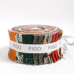 "Figo Fabrics After the Rain 2.5"" Strip Roll"