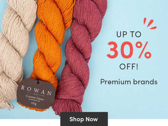 Up to 30 percent off Premium brands!
