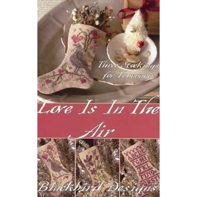 Blackbird Designs Love Is In The Air Stockings - BD141 - Leaflet