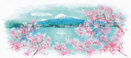 Riolis Sakura - Fuji Cross Stitch Kit - Multi