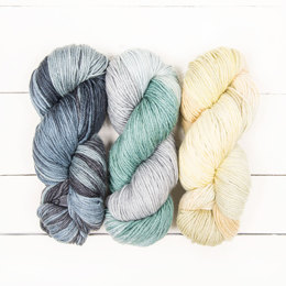 The Yarn Collective Pembroke Worsted 3 Skein Color Pack