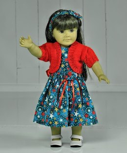 "Doll Bolero for 15-18"" Dolls"
