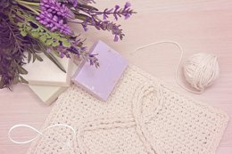 Infinity Crochet Washcloth