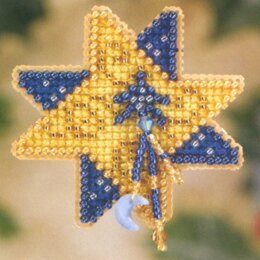 Mill Hill Shining Star Cross Stitch Kit - Multi