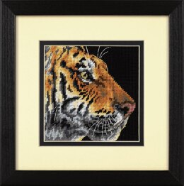 Dimensions Tapestry Kit: Mini: Tiger Profile - 13 x 13cm