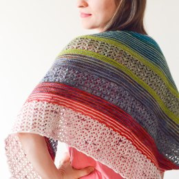 Pieces Of My Heart Shawl