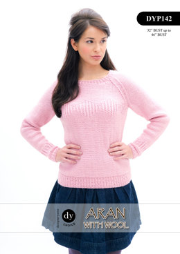 Jumper in DY Choice Aran With Wool - DYP142