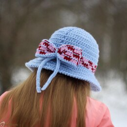The Laura brimmed hat