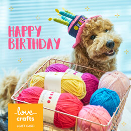 LoveCrafts eGift Card - Happy Birthday 2