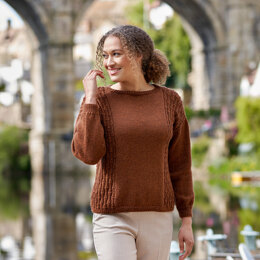 Riverside Collection in Bluefaced Leicester DK by Sarah Hatton