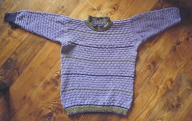CARLA NOBLE, cotton jumper for the bairns