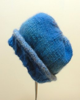 Twirly Tweed Chunky Adult Cable Hat