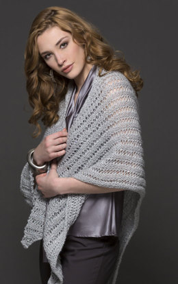 Dina Shawl in Filatura Di Crosa Galaxy - Downloadable PDF
