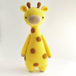 Giraffe with Spots Crochet Amigurumi Pattern