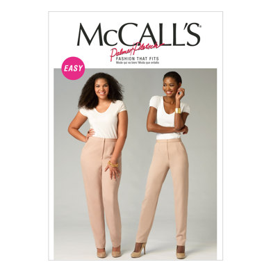 McCall's Misses'/Women's Pants M6901 - Paper Pattern Size All Sizes In One Envelope