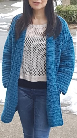 States downloads pattern full easy cardigan chunky crochet free