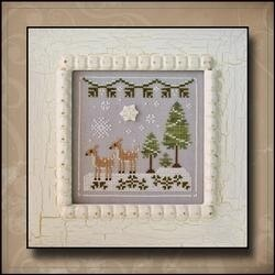 Country Cottage Snowy Deer - CCNFF2 -  Leaflet